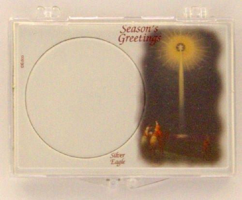 Ase seasons greetings coin snap lock holder