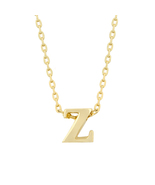 J Goodin Fashion Jewelry Gift 18k Golden Initial Z Pendant With 18 Inch ... - $18.00