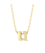 J Goodin Fashion Jewelry Party Gift Golden Initial U Pendant With 18 Inc... - $18.99