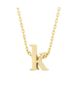 J Goodin Fashion Jewelry Party Gift Golden Initial K Pendant With 18 Inc... - $18.99