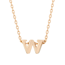 J Goodin Rosegold Finish Initial With Pendant With 18 Inch Chain - $19.99