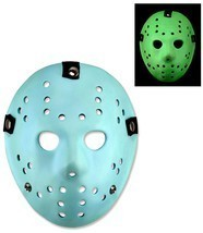 Friday The 13th Jason Voorhees Glow in the Dark 8 Bit NES Video Game Mask - $49.49