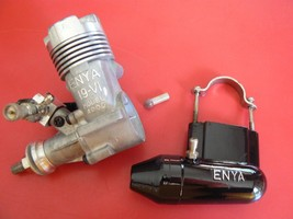 MRC ENYA 19-VI MODEL 4006 WITH EXHAUST VINTAGE VERY LOW RUN TIME - $45.00