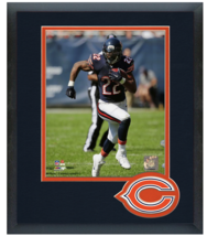 Matt Forte 2014 Chicago Bears - 11 x 14 Team Logo Matted/Framed Photo - $42.95