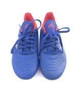 Adidas Predator  FG Youth Soccer Cleats (Blue/Red) Size 4 Male Lace Up - $24.75