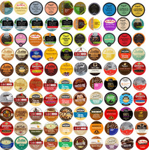 100 Cup Super Variety Sampler! 100 Different Flavors! No duplicates! cof... - $89.50