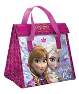 Back to School Disney's Frozen Insulated Large Lunch Bag kids Anna & Elsa - $19.79