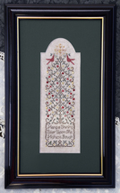 Shining Star christmas cross stitch chart Drawn Thread - $9.00