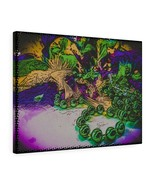 "Mardi Gras Remnants Canvas Artwork 24"" x 18"" Gallery Wrapped Giclée Print - $69.99"