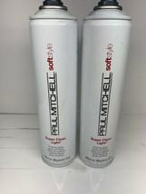 2x Paul Mitchell Soft Style Super Cl EAN Light Finishing Spray 10oz - $33.65