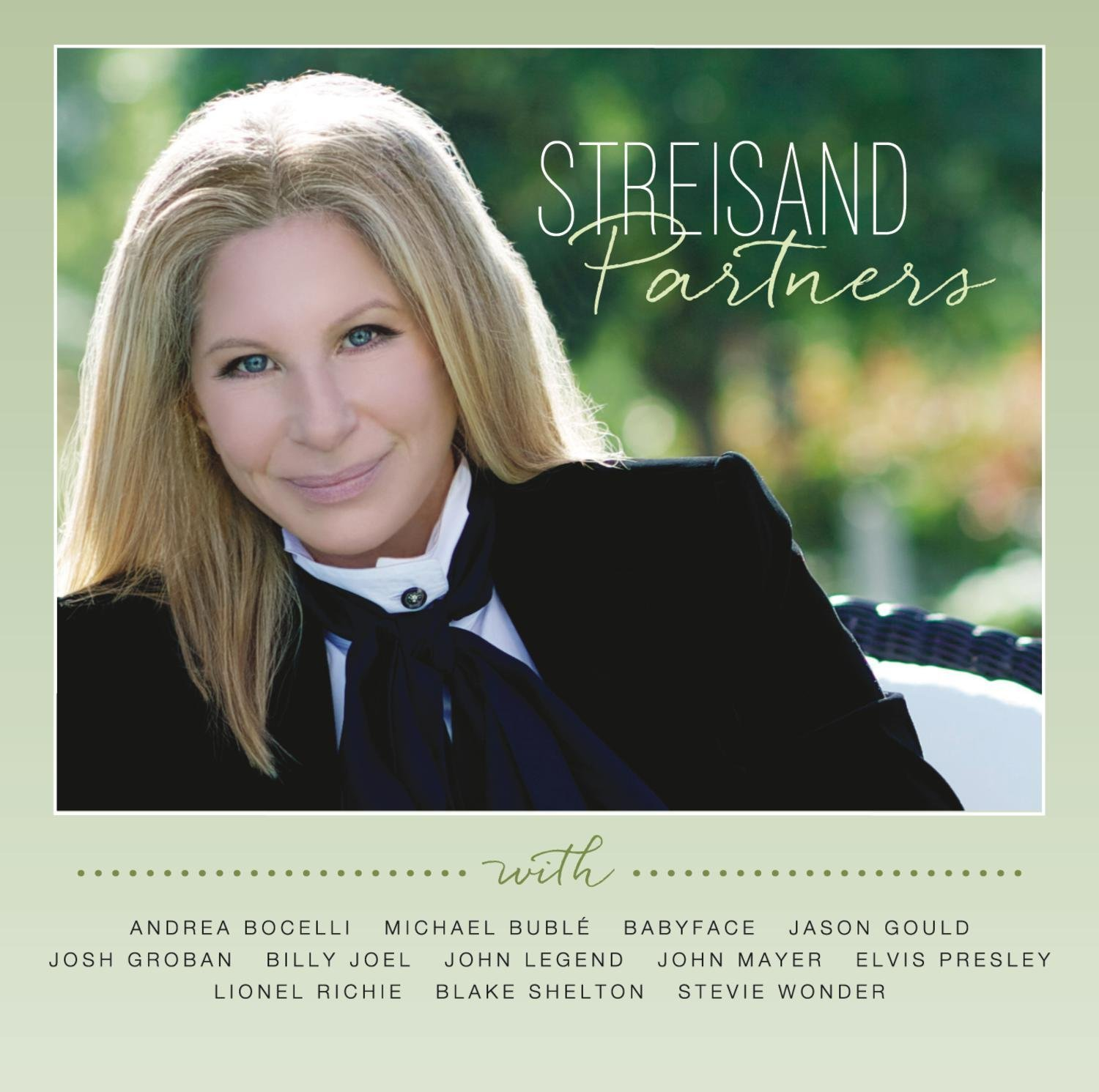 Primary image for Barbara Streisand - Partners NEW Audio CD