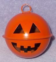 Halloween Pumpkin JOL Hanging Marble Rattle Noise Maker -A- - $7.95