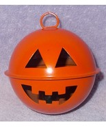 Halloween Pumpkin JOL Hanging Marble Rattle Noise Maker -A- - $5.95