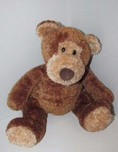 Mary Meyer Teddy Bear plush brown textured fur tan face ears feet seated - $17.81