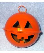 Halloween Pumpkin JOL Hanging Marble Rattle Noise Maker -B- - $5.95