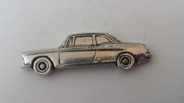 Peugeot 404 Coupe car fine english pewter car pin badge - $8.12