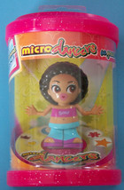 "3"" Micro Gina Diamond Dancer Doll 2003 Tomy Mip New - $4.46"