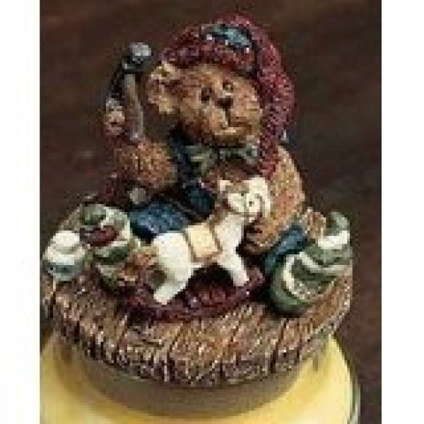 "Primary image for Boyds Candle Topper""Tinker..Helping Hands""Fits small yankee candle~#651258-1-NIB"