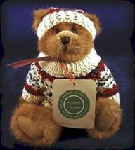 """Boyds Bear """"Edmund"""" #9175-02  - 8"""" plush bear- NWT- 1994-  Retired - $69.99"""