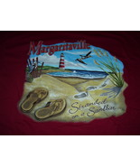 "Jimmy Buffett "" Margaritaville "" Grand Turk, BWI  On A Sandbar T-Shirt L... - $19.95"