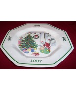 """NIKKO Japan 1997 Christmastime """"DECK THE HALLS """" Plate 5th Ed.in Series... - $24.00"""