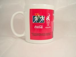 Original 1996 Olympic Torch Relay Coke CocaCola Collectible Souvenir Mug Atlanta - $7.99