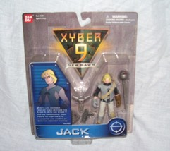 Saban's XYBER 9 New Dawn JACK Action Figure NEW! By Bandai From 1999 - $12.96
