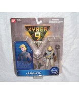 Saban's XYBER 9 New Dawn JACK Action Figure by Bandai From 1999 - $11.96