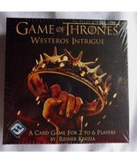 Game of Thrones Westeros Intrigue Card Game NEW - $11.42