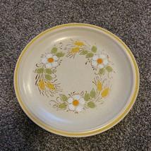"""Hearthside Garden Festival Prairie Flowers Yellow Stoneware 10.5"""" Dinner Plate - $11.99"""