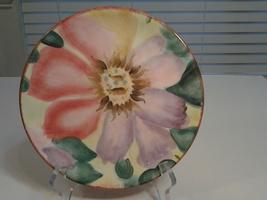 "Pfaltzgraft, 2005 FLower Market, Anemone 8"" Salad Plate, VG, Gorgeous  - $9.99"