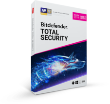 Bitdefender Total Security 2019 10 Devices, 1 Year (Login Activation G... - $47.99