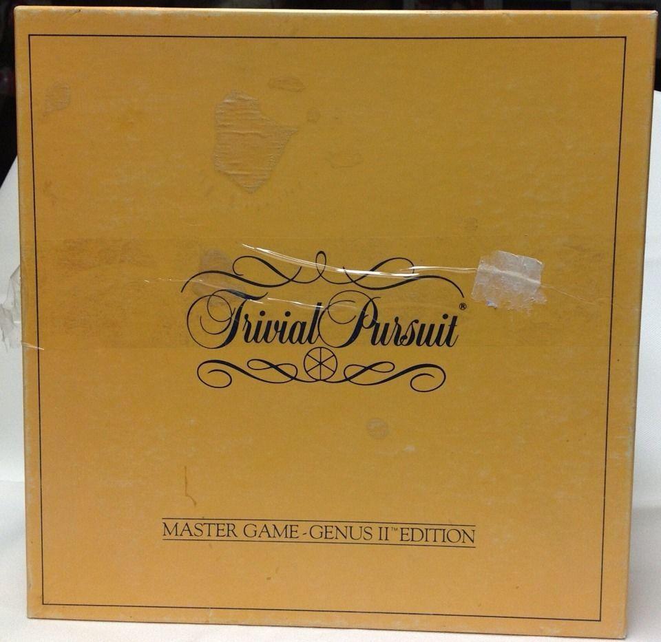 Trivial Pursuit Master Game - Genus II - Special Edition For Diet Coke & Sprite - $6.94