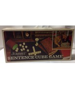 Scrabble Sentence Cube Game -Vintage 1971 - No Timer - Wood Cubes - $7.94