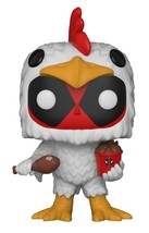 Funko Pop Marvel: Deadpool-Chicken Suit Collectible Figure, Multicolor - $14.56