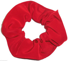 Red Simply Silky Hair Scrunchie Scrunchies by Sherry Ponytail Holder  - $6.99