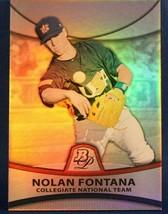 2010 (TEAM USA) Bowman Platinum Prospects #PP35 Nolan Fontana - $0.99