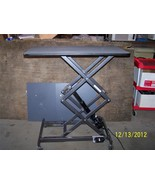 Ascot Low Boy  Electric Scissor Hydraulic  Lift Table HD-W/PVC Grooming - $1,188.00