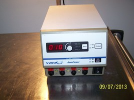 VWR AccuPower Model 300 Electrophoresis Power Supply Digital - $297.00