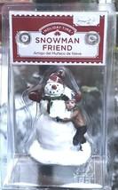 """Snowman Friend"" Victorian Christmas Figurine - $10.87"