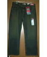Levi Strauss&Co Husky Boy's Relaxed, Straight Leg Jeans.Dark Wash,Sz.16(W32x27) - $21.99