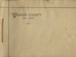 Warren County New Jersey 1931 [Paperback] by M. Mustin - $24.70