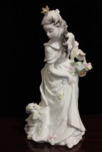 "Vintage Germany Rosenthal Princess and Dwarf Figurine By Friedrich Gronau 9.8"" - $500.00"