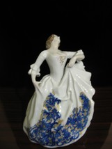 "Antique Rosenthal Porcelain Figure Figurine Lady Dancer 8 1/2"" Marked circa 1922 - $396.00"