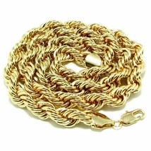 """Rope Chain Hip Hop BIG LONG Necklace 36"""" 10 mm shiny Gold or Silver plat... - $24.99"""