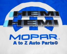NEW 2009-2010 Dodge Challenger R/T HEMI Hood Emblems,OEM Mopar - $72.95