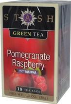 Stash Green Tea Pomegranate Raspberry 18 Tea Bag Box - $8.90