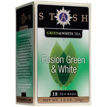 Stash Green Tea Fusion Greeen & White 18 Tea Bag Box - $8.90