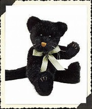 "Boyds Bears ""Coalcracker Ninelives"" 11"" Plush Cat  #53040 07  Nwt   Retired - $18.99"