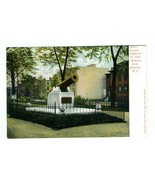 Cannon Captured in 1898 Military Park Undivided Back Postcard Newark New... - $13.86